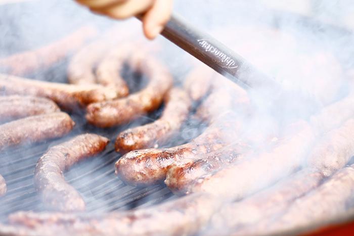 Barbacoas de primavera. Carne Boket